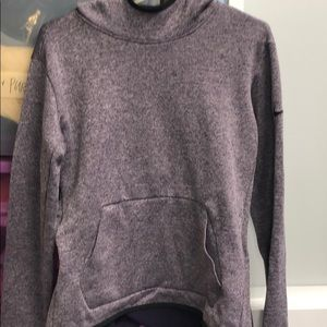 Nike pullover purple hoodie